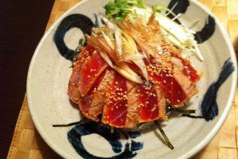 【レシピ】 夏にぴったり!鮪の炙り丼で食欲増進。