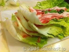 白菜豚バラ鍋5
