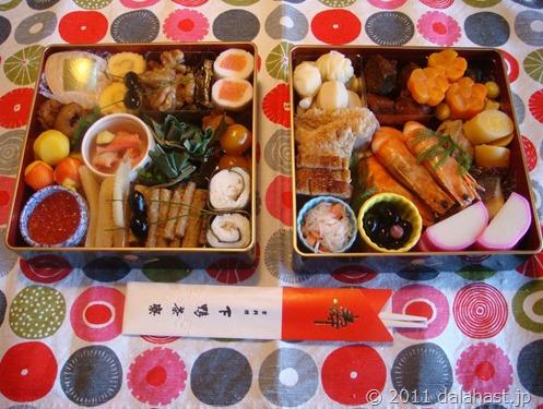 今年は御節ブーム!?京都下鴨茶寮の御節を予約しました。