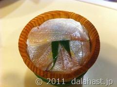 平助の小鯛笹漬け