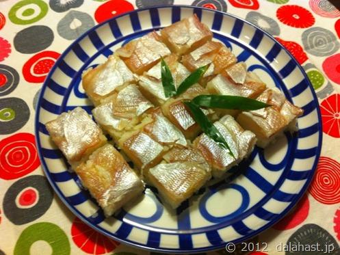 小鯛押し寿司8
