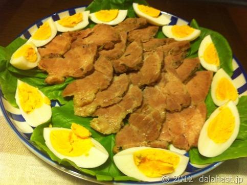 塩豚サラダ菜