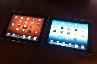 新しいiPadの使用感レビュー(iPad2との比較)