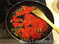 ゴーヤ麻婆素麺6