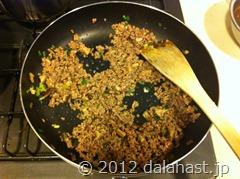 ゴーヤ麻婆素麺7