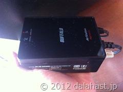 無線LANコンバータWLAE-AG300N/Vを購入しました。