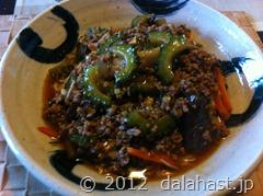 ゴーヤ麻婆素麺12