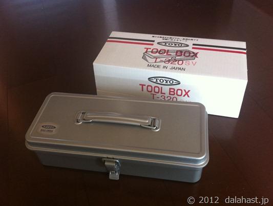 いぶし銀の職人技 メイドインジャパンの工具箱 TOYO T-320