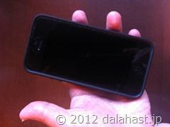 iPhone5おサイフケータイ6