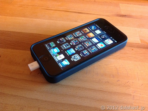 iPhone5とmicro USB