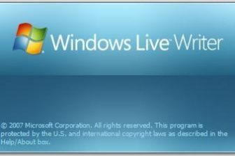 Windows Live Writer で投稿画像を既定に設定する方法