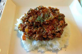 リピート中の美味しい野菜たっぷりドライカレーの作り方