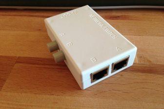 電源不要の2ポートLAN切り替え器はなかなか使えます