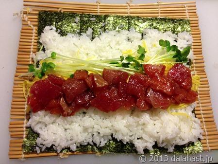 恵方巻き海鮮寿司
