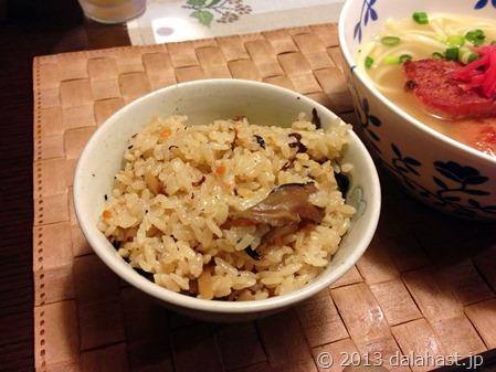 沖縄炊き込みご飯ジューシー