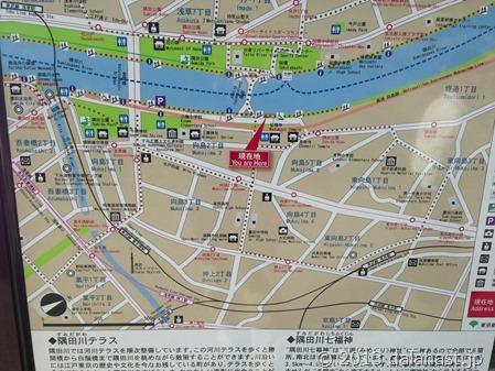 隅田川沿い地図