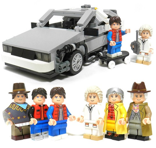 公式Back to the Future LEGOセット登場 7月発売開始