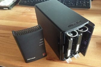 BUFFALOのNASの故障したHDD再度換装する