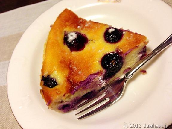 ブルーベリーベイクドチーズケーキ1ピース