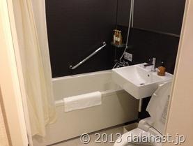 ホテル近鉄京都お風呂トイレ