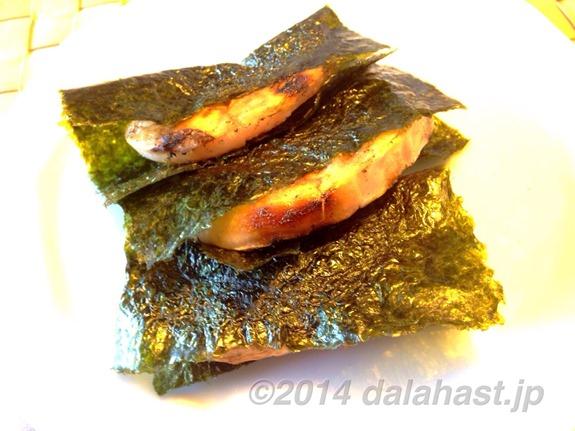 鏡開き 砂糖醤油の磯部餅は最高に美味い