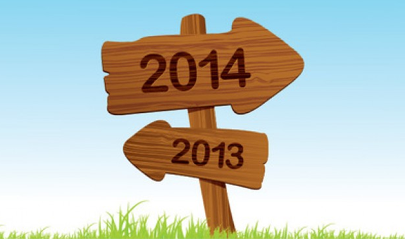 2014年新年スタート 今年の目標を設定