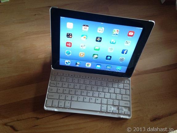 AnkerのiPad用キーボード