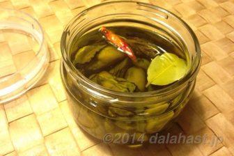 牡蠣の燻製オリーブオイル漬けに挑戦してみました
