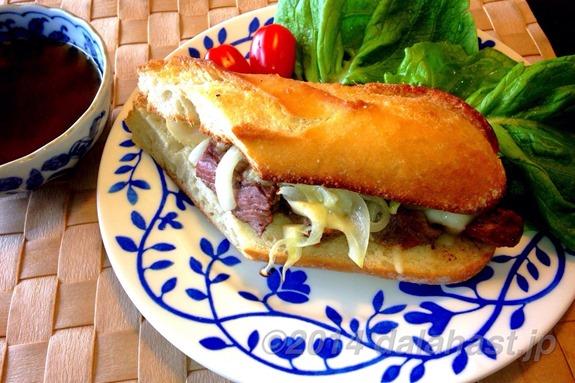 フレンチディップサンドイッチ2
