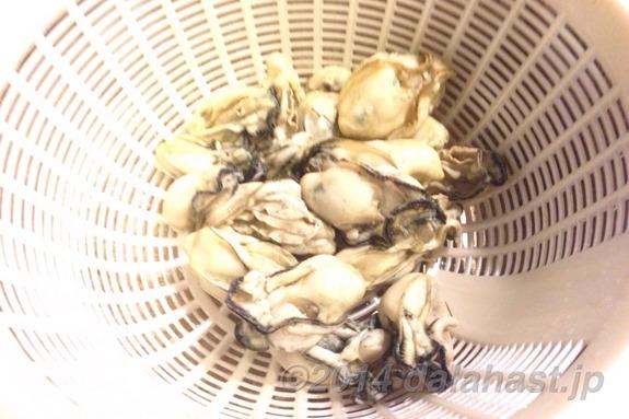 牡蠣の燻製茹であがり