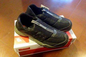 待望のスリッポンスタイル newbalance MW403 普段靴はこれ以外考えられない疲れない靴