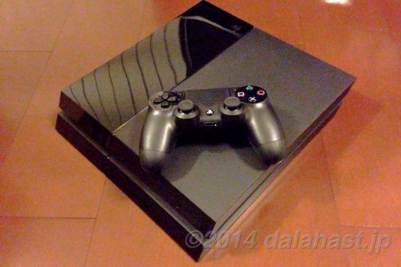 PS4開封