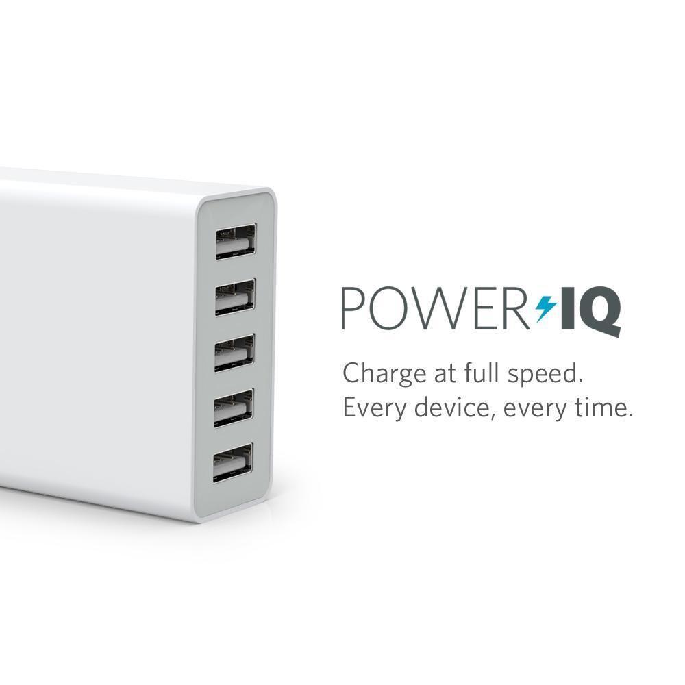 Ankerから40W USB 5ポートウォールチャージャー4月発売決定