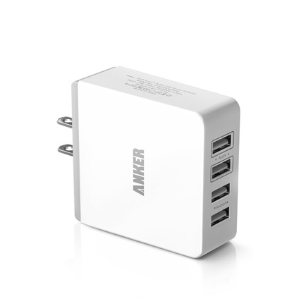 Anker36W72AQuad-PortCompactUSBWallCharger