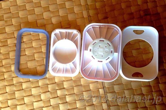 OXOオクソーのポップコンテナ洗浄