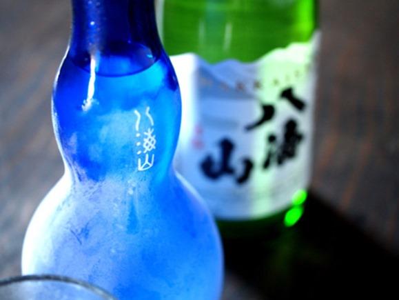 季節限定 夏の八海山 特別純米原酒は氷結酒で飲むと旨い!
