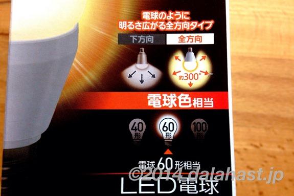LED電球記載事項