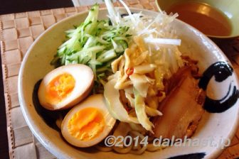 噂のセブンレイブンプレミアム 魚介豚骨醤油スープのつけ麺を食べてみました