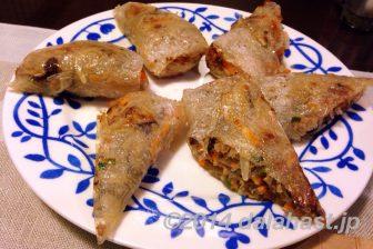 五香粉でつくる本格的ベトナム風揚げ春巻きを自家製ハーブで食す