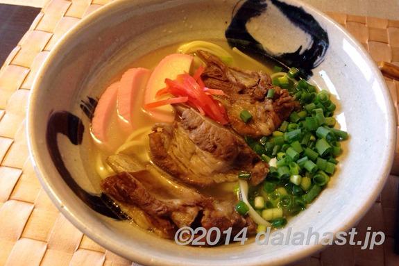 沖縄ソーキそば市販スープ使用