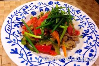 夏野菜たっぷり豚の甘辛チャンプルー by コウケンテツさん