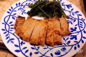 御飯がすすむ! 豚ロース肉の万能味噌漬け焼き