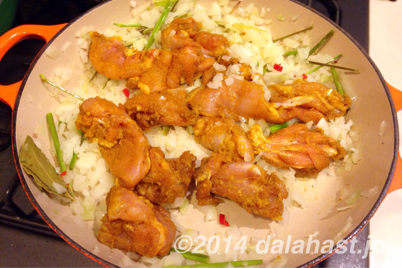 ベトナム風チキンカレー