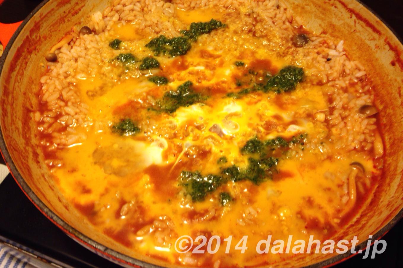 ダーラナトマト鍋