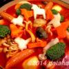 ダーラナトマト鍋の〆は絶品バジル&チーズオムライス