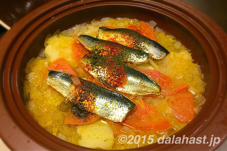 鰯のスペイン風煮込み ソーバス・ギサダス 食欲をそそる香り立つタパスの作り方