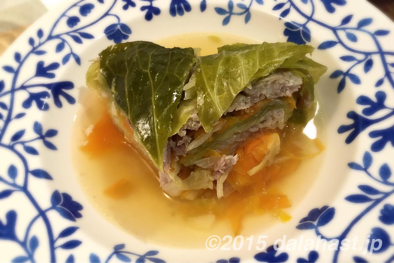 キャベツと豚肉のミルフィーユ 重ねて煮るだけの簡単レシピ