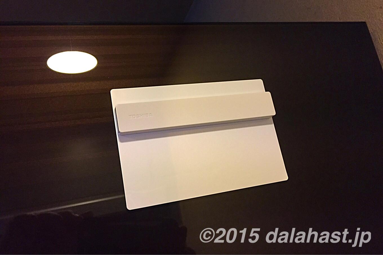 ガラス扉の冷蔵庫にマグネットでメモを貼り付ける方法