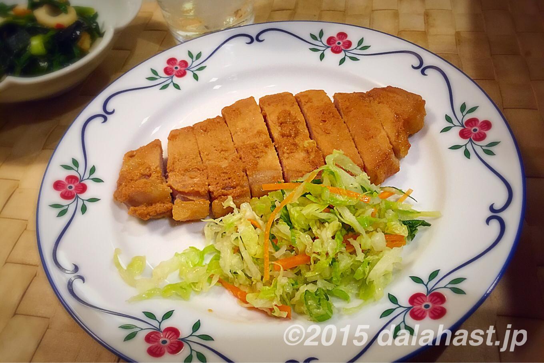 奈良漬けを食べた後の楽しみ 絶品!豚ロース肉の酒粕漬け焼き