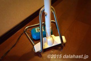 マキタ掃除機CL102DWの自立スタンドを購入したら、スッキリ収納できた!
